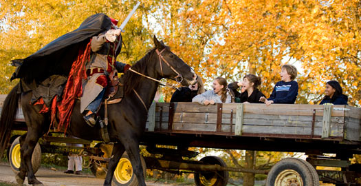 The Apple Store is Even Open Evenings this Fall During Headless Horseman!