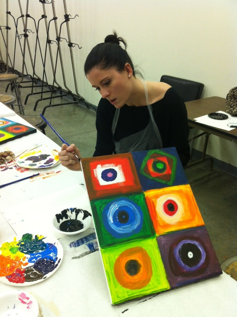 Couples art classes at the indianapolis art center doing for Wine and paint indianapolis