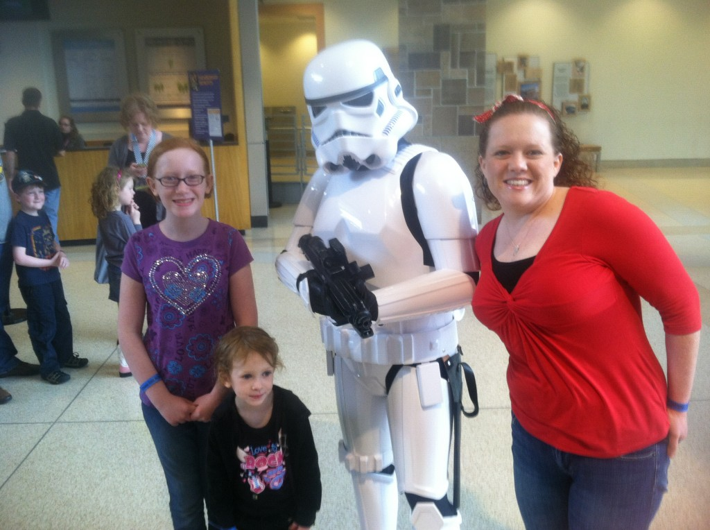 Storm Trooper at Star Wars:® Where Science Meets Imagination