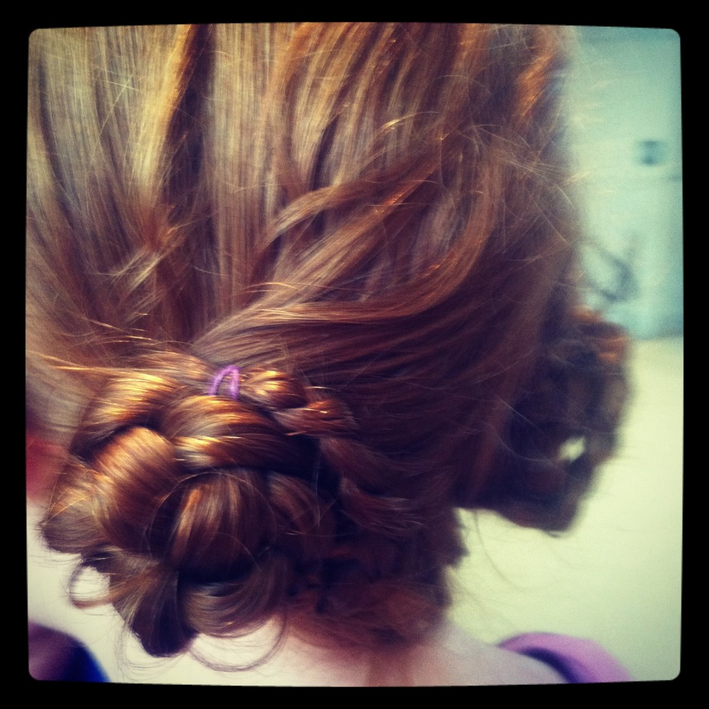 Princess Leia hair for Star Wars:® Where Science Meets Imagination