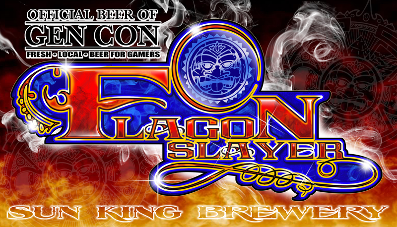 Flagon Slayer: The Official Beer of GenCon