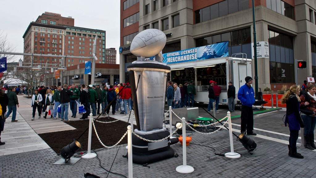 Big Ten Championship Tailgate on Georgia Street