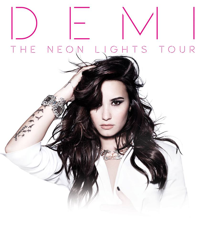 Win tickets to see Demi Lovato's Neon Lights Tour at Banker's Life Fieldhouse on March 30th
