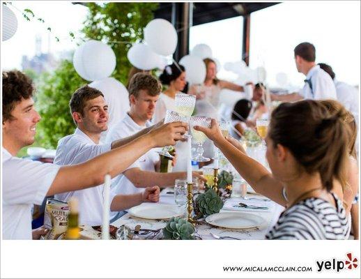 Yelp's Diner en Blanc