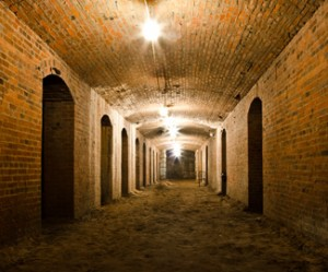 Catacombs at the City Market. Photo courtesy of Indiana Landmarks.